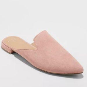 Velma Slip On Pointy Toe Mules Size 10 NWOT